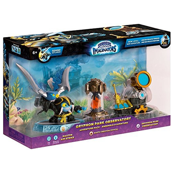 Skylanders Imaginators Adventure Pack 1 (Air Strike/Earth/Observatory) 026736 87922EU - ODDO igračke