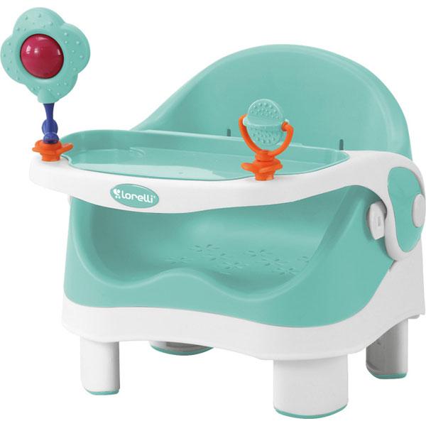 Stolica za Hranjenje (Booster) Pixi Green & White 10100280001 - ODDO igračke