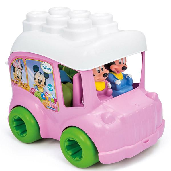Mekane gumene kocke Clemmy Minnie bus CL14825 - ODDO igračke