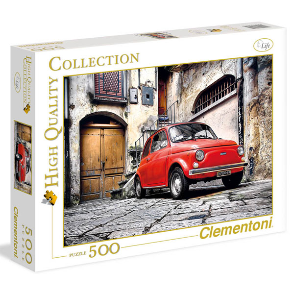 Clementoni Puzzla Fiat 500 500pcs 30575 - ODDO igračke