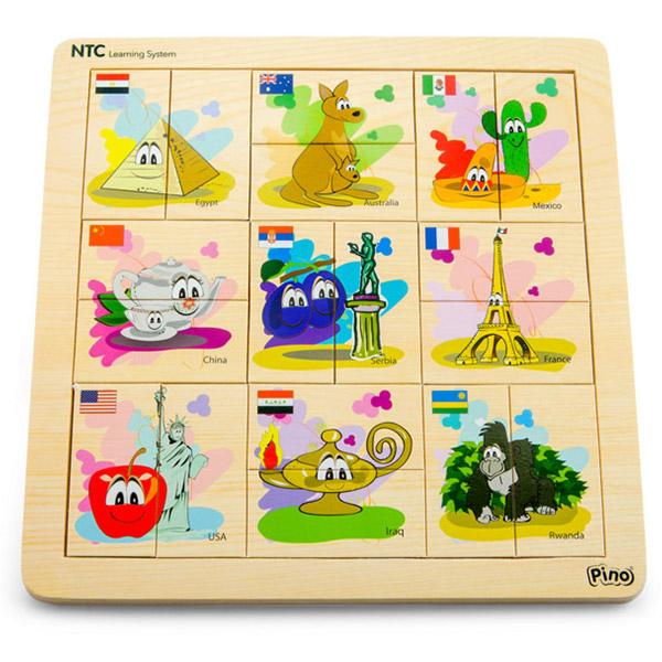 PINO NTC Asocijacije svet 4P007B - ODDO igračke