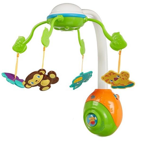 Vrteška za krevetac muzička Safari Sku8352 - ODDO igračke