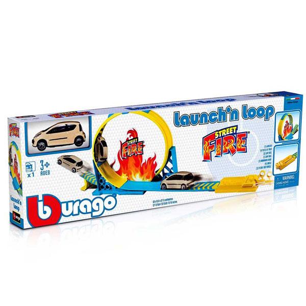 Burago Street Fire 1:43 Loop BU30283 - ODDO igračke