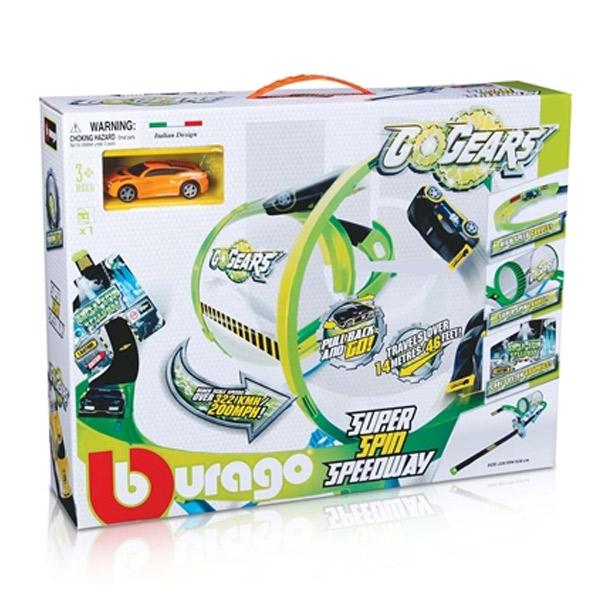 Pista Go Gears 1/55 Suoer Spin Speedway BU30286 - ODDO igračke