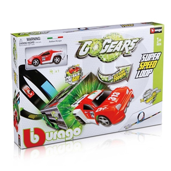 Burago Go Gears 1:55 Super Speed Loop BU30278 - ODDO igračke