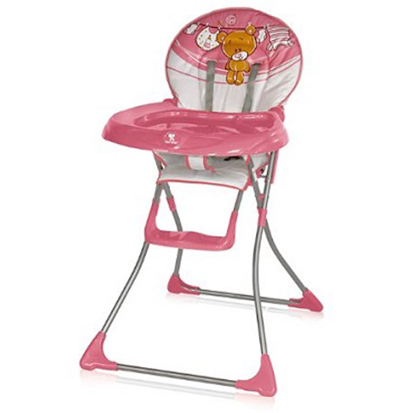 Stolica za hranjenje Jolly - Pink Teddy 10100081325 - ODDO igračke