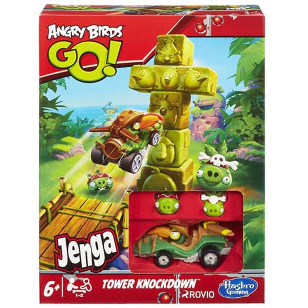 Angry Birds Go Jenga Tower Knockdown Igre A6437