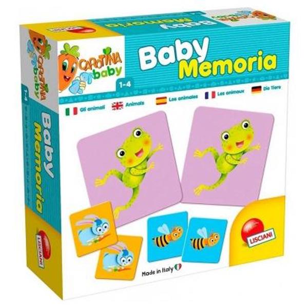 Memo igra Lisciani 58501 - ODDO igračke