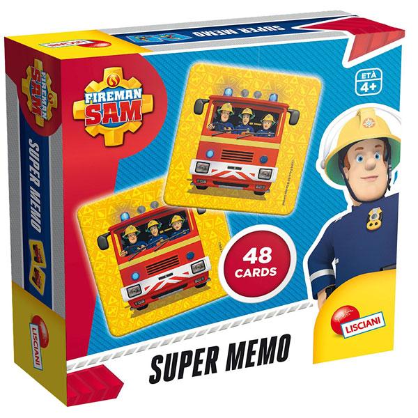 Edukativna igra memorije Vatrogasac Sem Lisciani 55302 - ODDO igračke