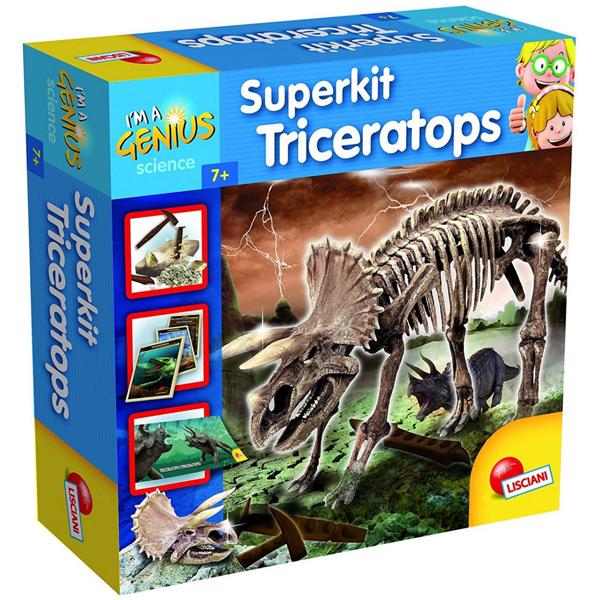 Mali Genije Super Kit Triceratops Lisciani 56439 - ODDO igračke