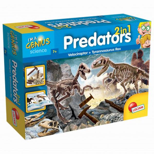 Mali Genije Predatori set 2 u 1 Lisciani 56408 - ODDO igračke