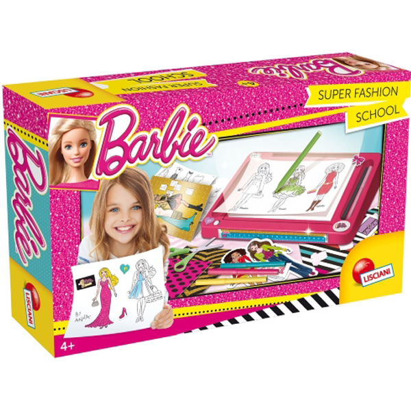 Kreativni set Barbie Škola mode Lisciani 55982 - ODDO igračke
