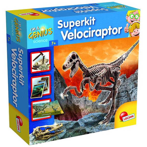 Mali Genije Super Kit Velociraptor Lisciani 56422 - ODDO igračke