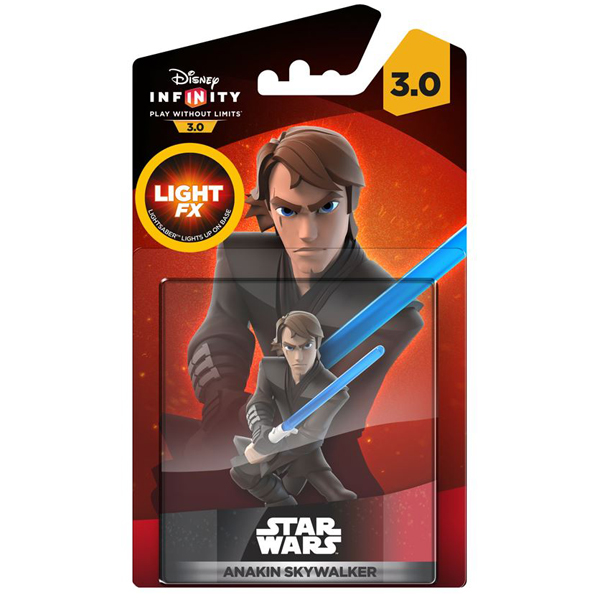 Infinity 3.0 Figure Light Up - Anakin (Star Wars) 024484 IQAV000127  - ODDO igračke
