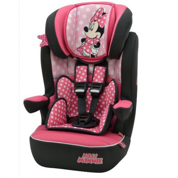 Auto sedište za decu od 9-36kg 1/2/3 Minnie Nania I-max 5120801 - ODDO igračke