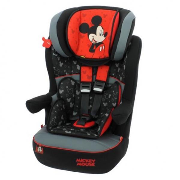 Auto sedište za decu od 9-36kg 1/2/3 MickeyMouse Nania I-max 5120800 - ODDO igračke