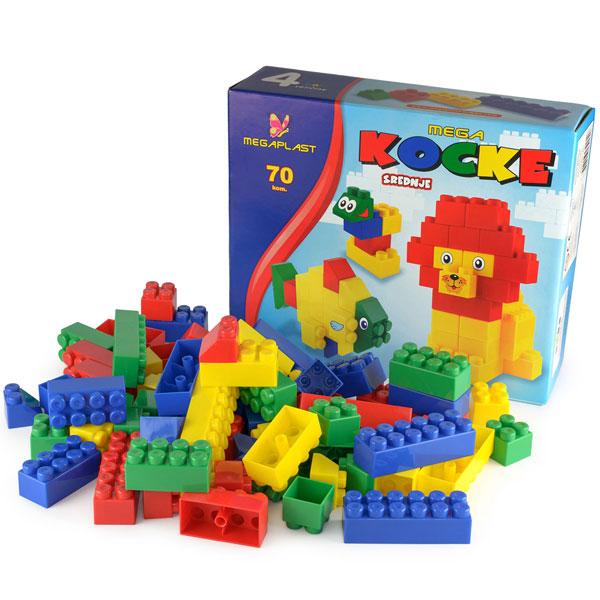 Mega kocke K. K. 70pcs 3950940 - ODDO igračke