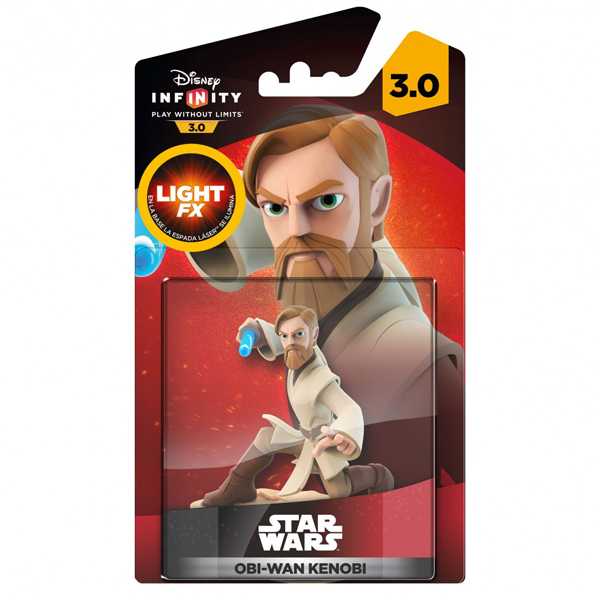 Infinity 3.0 Figure Light Up - Obi Wan (Star Wars) 024483 IQAV000126 - ODDO igračke