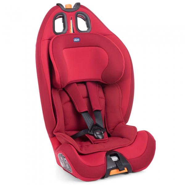 Auto sedište za decu od 9-36kg Gro-Up 123 red passion - crveni Chicco 5100092 - ODDO igračke