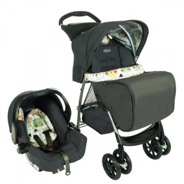 Graco duo sistem (kolica+auto sedište) Mirage TS bowtie bear - bež 5040200 - ODDO igračke
