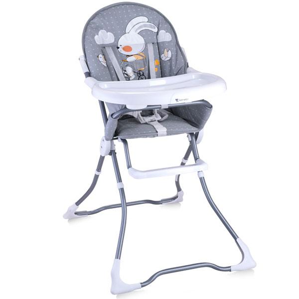 Stolica za hranjenje Candy Grey Rabbit Bertoni 10100211706 - ODDO igračke