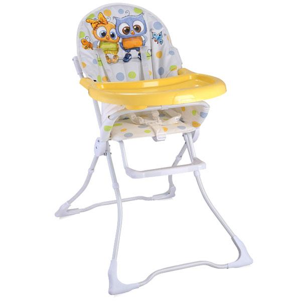 Stolica za hranjenje Candy White Baby Owls Bertoni 10100211710 - ODDO igračke