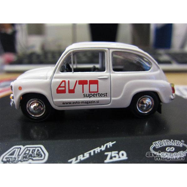 Autić Zastava 750 Fića Auto Supertest - ODDO igračke