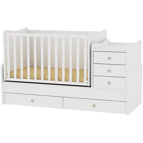 Drveni Krevetac Maxi Plus White Bertoni 10150300024 - ODDO igračke