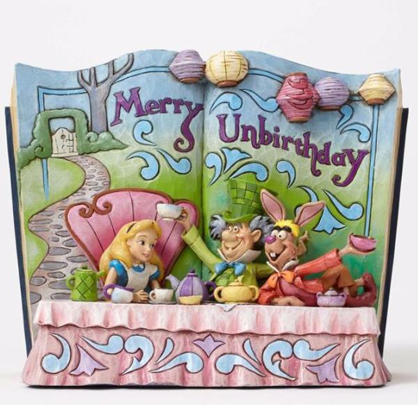 Jim Shore Disney Storybook Alice in Wonderland Figurine 026882 4049642 - ODDO igračke