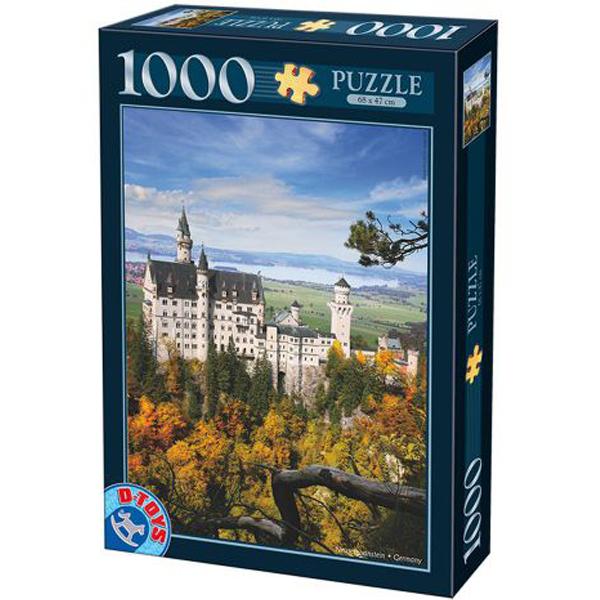DToys puzzla Neuschwanstein Castle 1000pcs 07/62154-14 - ODDO igračke