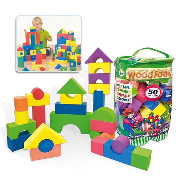 Jumbo Drveni Konstruktori u Boji 9216 - ODDO igračke
