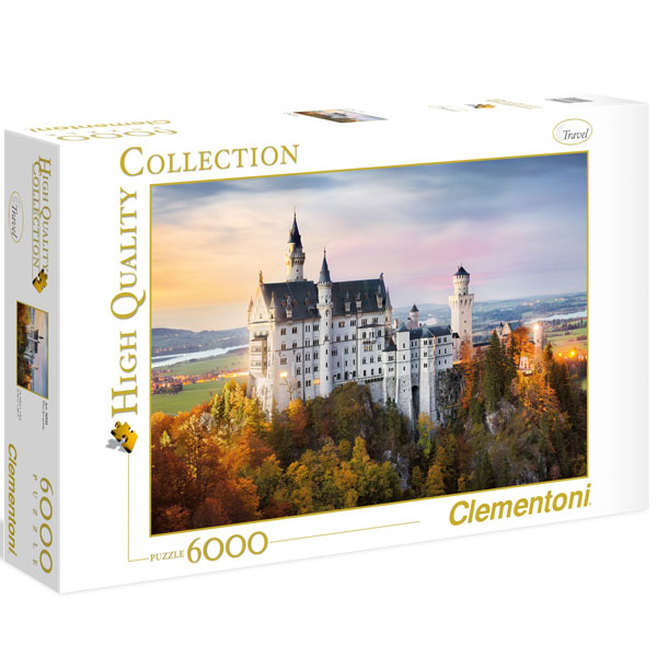 Clementoni Puzzla Neuschwanstein 6000 pcs 36522 - ODDO igračke