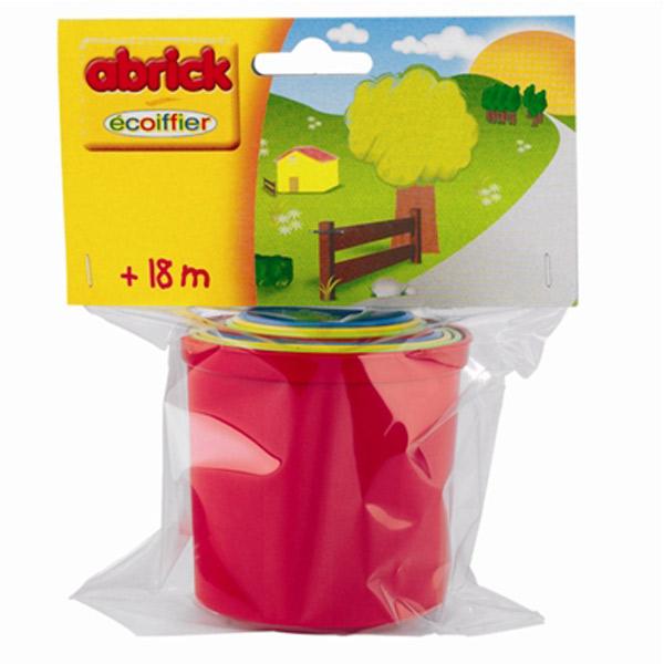 Čaše za Umetanje plastične Abrick SM000400                                                  - ODDO igračke