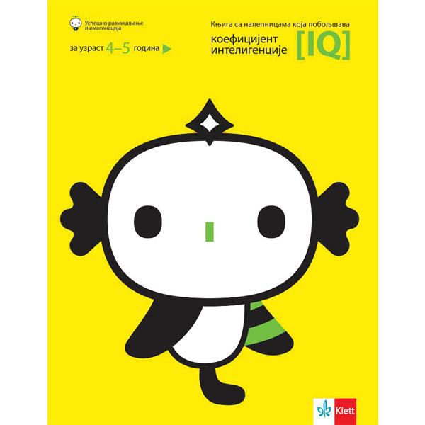 Knjiga sa Nalepnicama Koja Poboljšava Koeficijent Inteligencije 4-5 godina - ODDO igračke