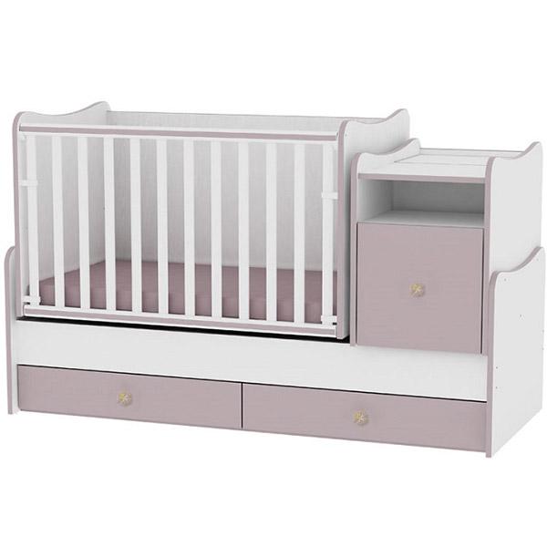 Drveni Krevetac Trend Plus - White-Cappuccino 10150400025 - ODDO igračke