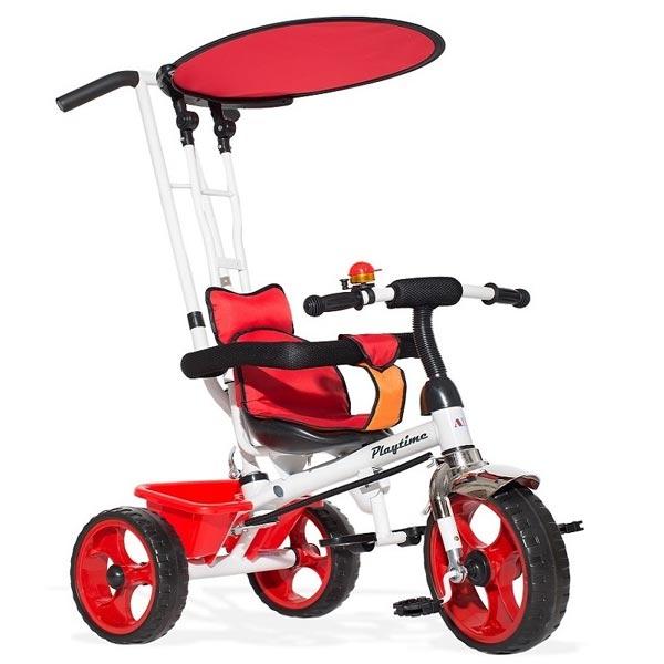Tricikl sa ručkom i tendom model 409 - ODDO igračke