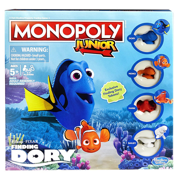 Monopol Junior Dory B8618 - ODDO igračke