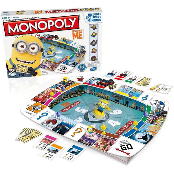 Monopol društvena igra Despicable Me Hasbro 35215 - ODDO igra�ke