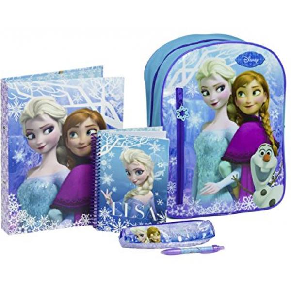 Ranac Za Vrtić sa školskim priborom Frozen DFR-8149-ARG - ODDO igračke