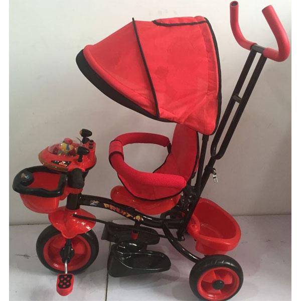 Tricikl sa ručkom i tendom Model 403  - ODDO igračke