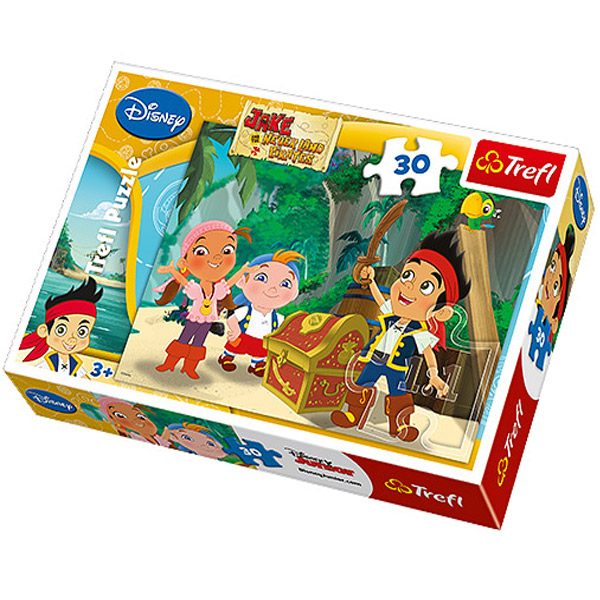 Trefl Puzzla The Treasure Disney Jake 30 Pcs 18182 Oddo