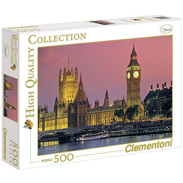 Clementoni Puzzla London 500 pcs 30378 - ODDO igračke