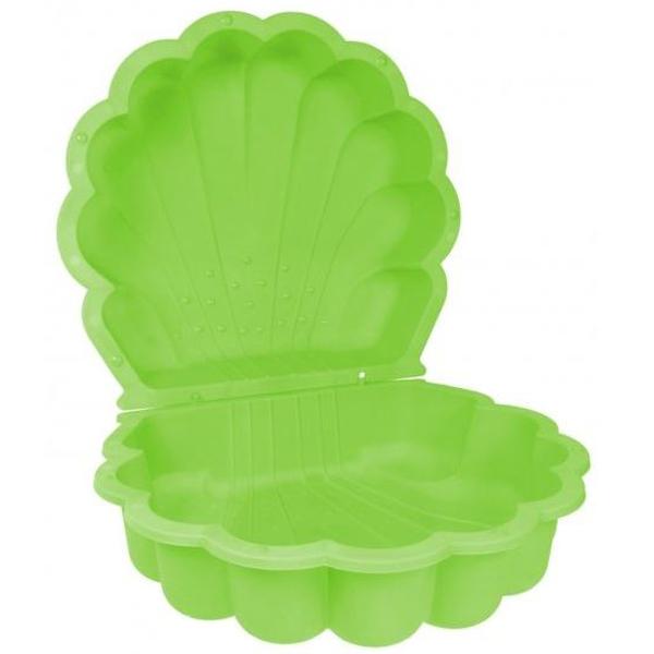 Peskarnik školjka zelena dupli 87x78x20cm Paradiso 2221 - ODDO igračke