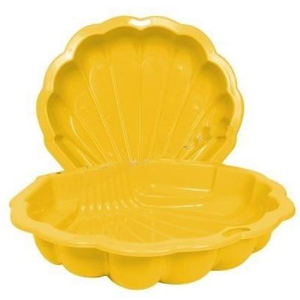 Peskarnik školjka žuti dupli 87x78x20cm Paradiso 2232 - ODDO igračke