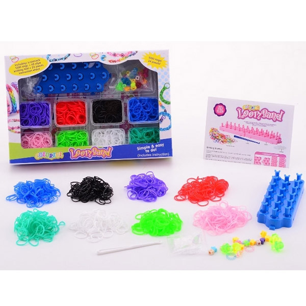 Gumice Set Loom Bands 1200pcs 29496 - ODDO igračke