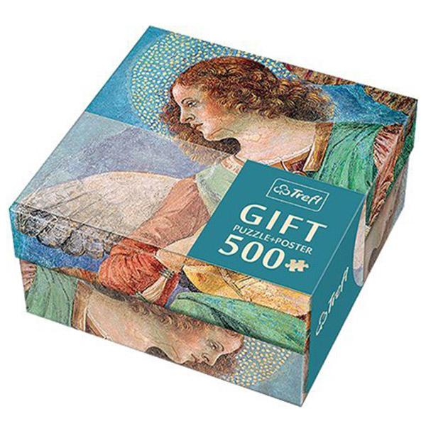Trefl Puzzla Melozzo da Forli - Angel 500pcs + Poster 37215 - ODDO igračke