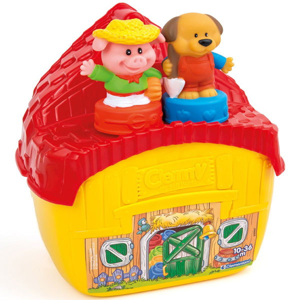 Mekane gumene kocke Clemmy Farma CL14751 - ODDO igračke