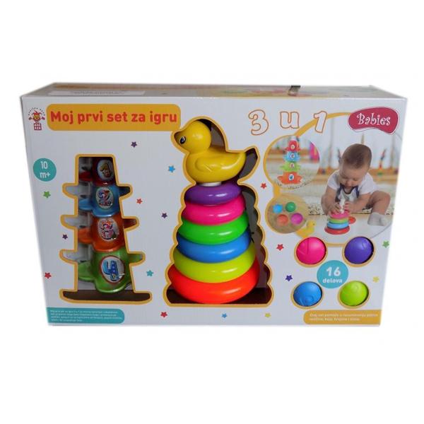 Set za bebe moja prva igra FR55382 - ODDO igračke