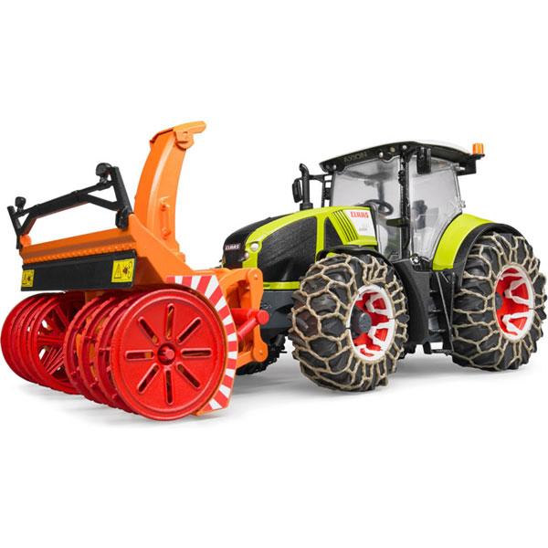 Traktor Claas Axion 950 sa lancima i čistačem Bruder 030179 - ODDO igračke