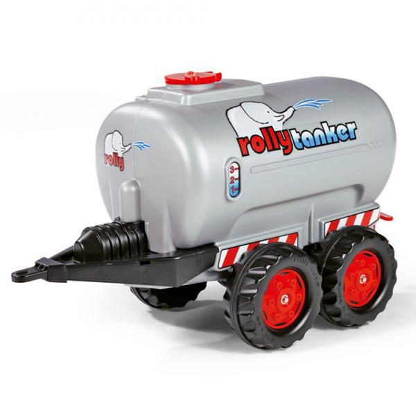 Prikolica Rolly Toys cisterna siva 122127 - ODDO igračke